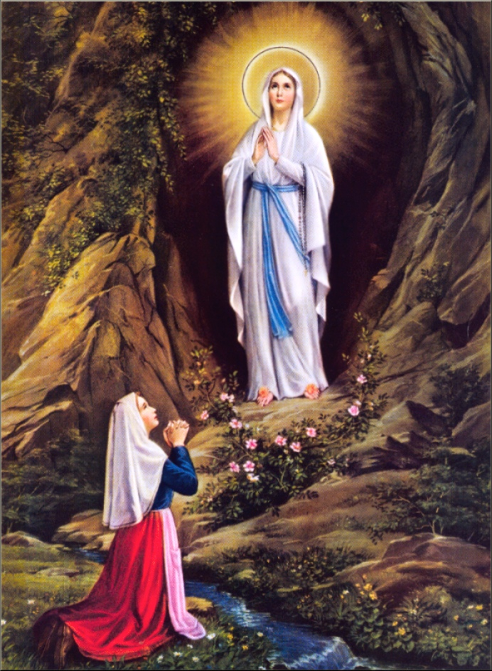 2 - FEBRUARY Our Lady of Lourdes